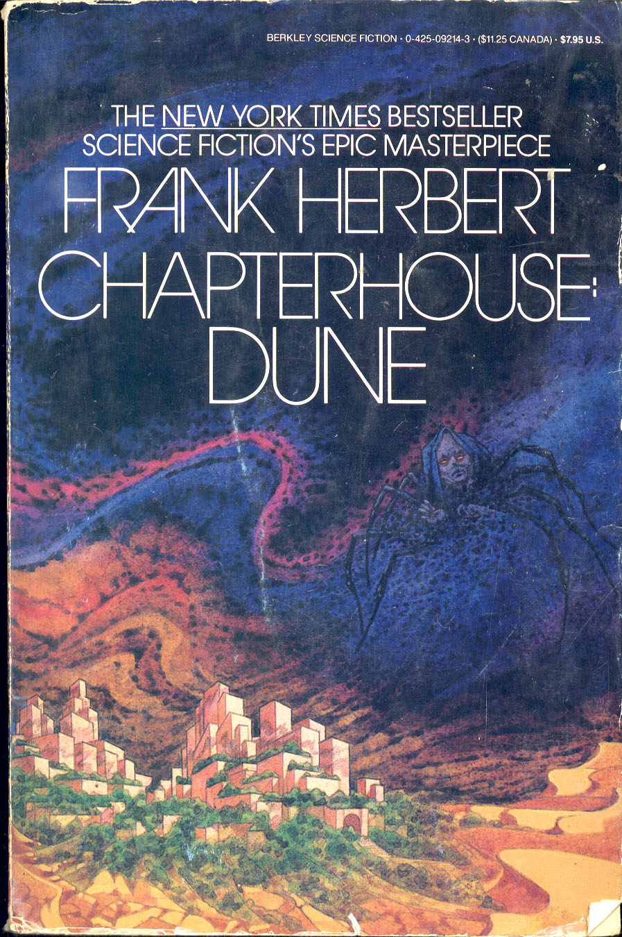 a review of frank herbert epic dune It seems that david lynch's adaptation of frank herbert's epic science fiction novel dune (1984) wasn't enough to convince people that this classic works far better.