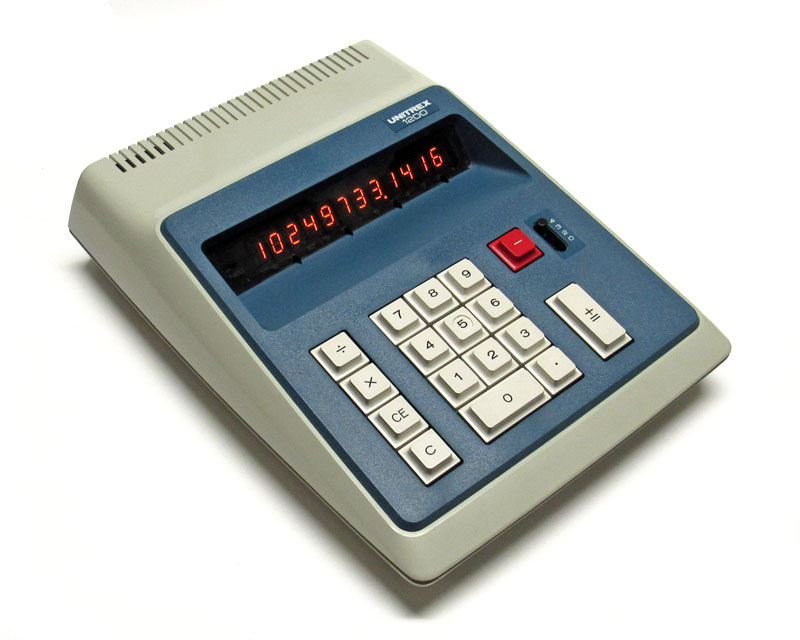 eiko unitrex the vintage technology association eiko unitrex 1200 four function desktop calculator